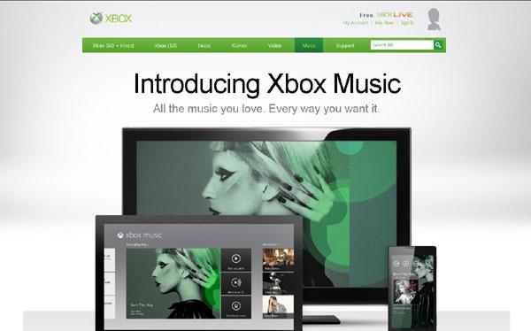 Microsoft lanza Xbox Music para competir con iTunes