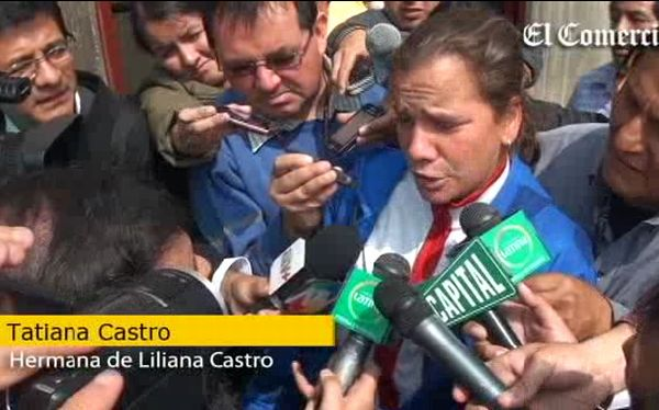 """Hermana de Liliana Castro Mannarelli: """"Las dos debieron ser absueltas"""""""