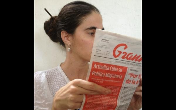 "Yoani Sánchez afirma que reforma migratoria representa ""fin del fidelismo"""