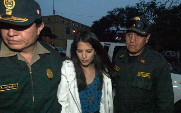 Eva Bracamonte purgará condena en penal de mujeres de Chorrillos