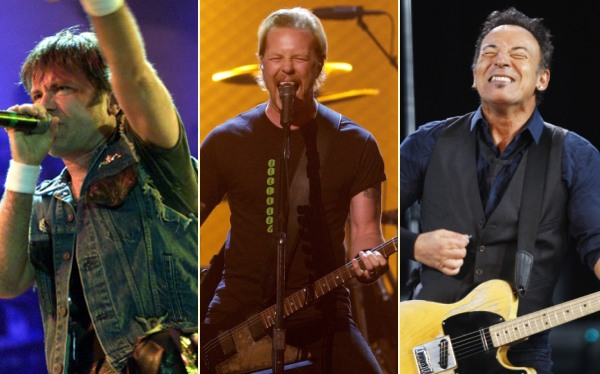 Metallica, Iron Maiden y Springsteen cantarán en el Rock in Río 2013