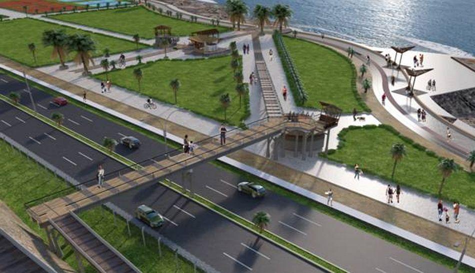 Tramo de la Costa Verde fue cerrado por construcción de puente peatonal
