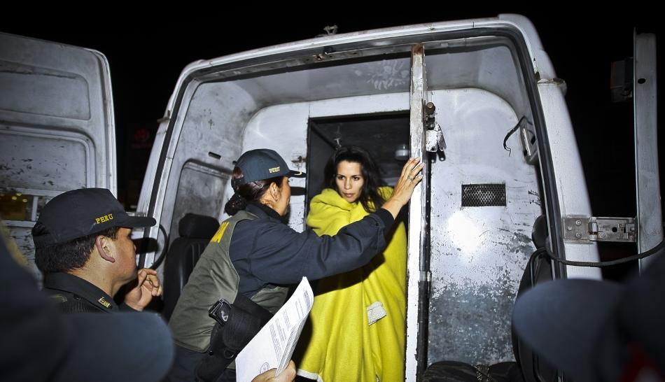 FOTOS: el regreso de Eva Bracamonte al Penal de Mujeres de Chorrillos