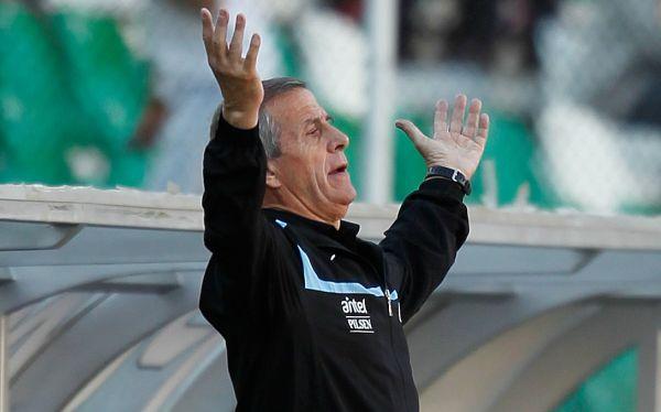 Para Tabárez, Uruguay no está muerto, pese a ser goleado 4-1 por Bolivia