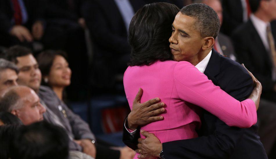 FOTOS: Barack Obama y Mitt Romney se lanzaron puyazos en segundo debate electoral