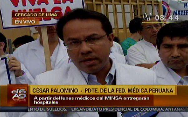 "Médicos en huelga piden a ministra De Habich renunciar por ""intransigente e incapaz"""