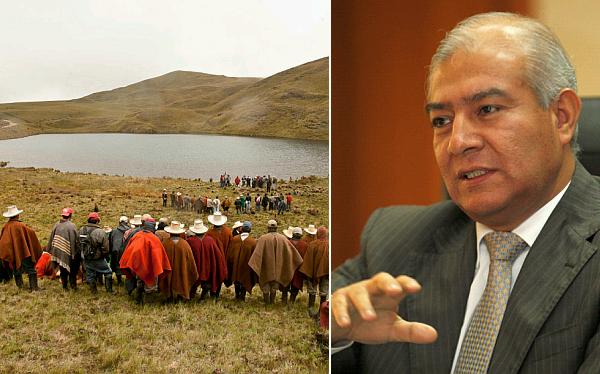 """No vamos a permitir el avance de comuneros a Conga"", afirmó Pedraza"