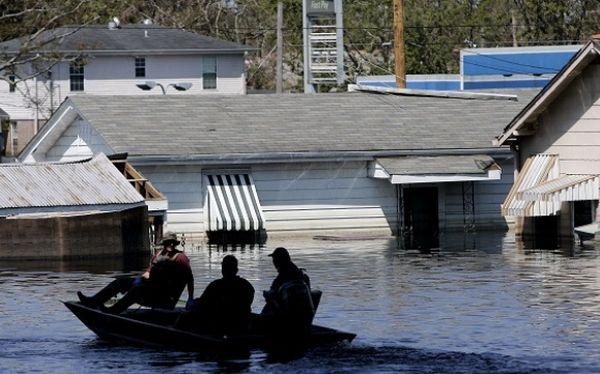 Las catástrofes naturales afectan en primer lugar a América del Norte