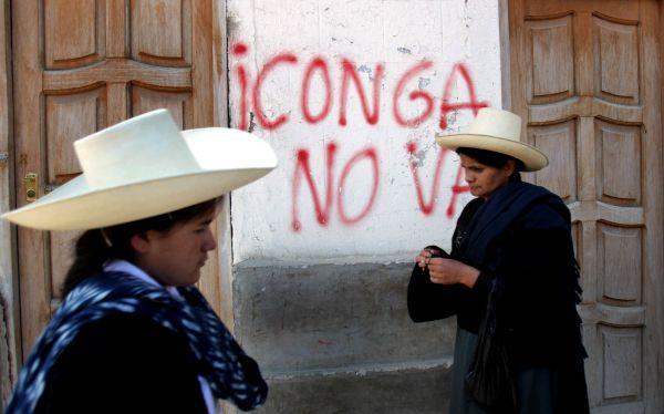 Cajamarca: denuncian que opositores al proyecto Conga atemorizan a niños con disparos