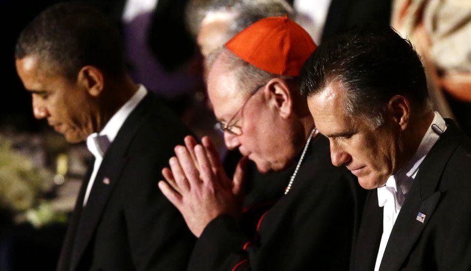FOTOS: Barack Obama y Mitt Romney intercambiaron bromas en cena benéfica en Nueva York
