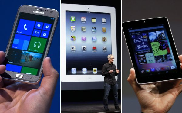 Apple, Microsoft y Google lanzarán cinco nuevos productos en solo 7 días