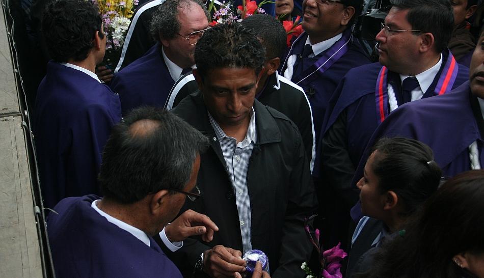 FOTOS: Alianza Lima rindió homenaje al Señor de los Milagros y pidió la bendición para el equipo