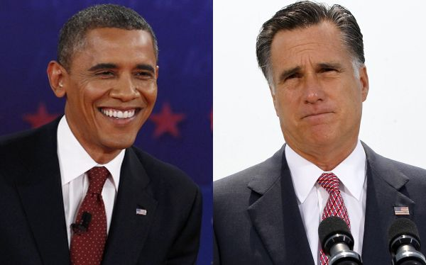 "¿Una cuota de humor? Obama dijo que Mitt Romney sufre de ""romnesia"""