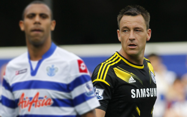 Chelsea impuso multa récord a John Terry por insultos racistas