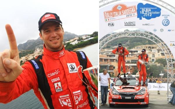 Nicolás Fuchs ganó el Rally de Italia de autos de producción