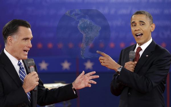 Obama y Romney debaten hoy por tercera vez y Latinoamérica será la gran ausente