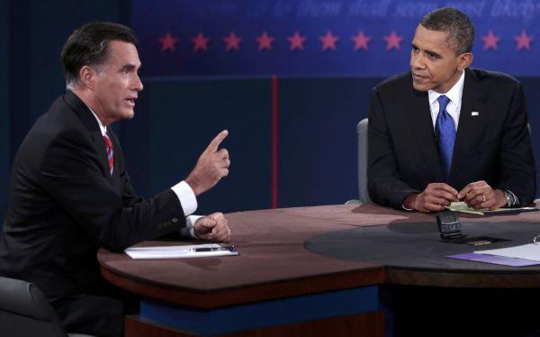 Encuestas dan como ganador a Obama sobre Romney en el último debate