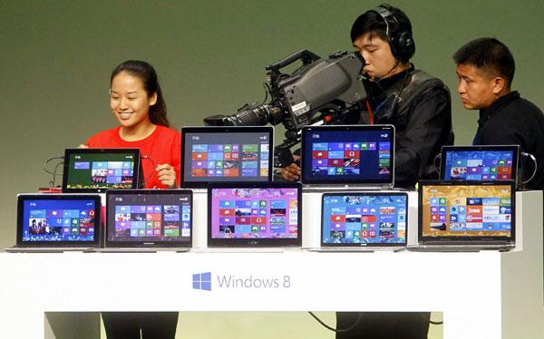 Microsoft se adelantó: lanzó Windows 8 y Surface en China