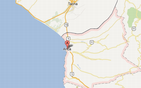 Sismo de 3,7 grados fue reportado en Arica durante simulacro binacional