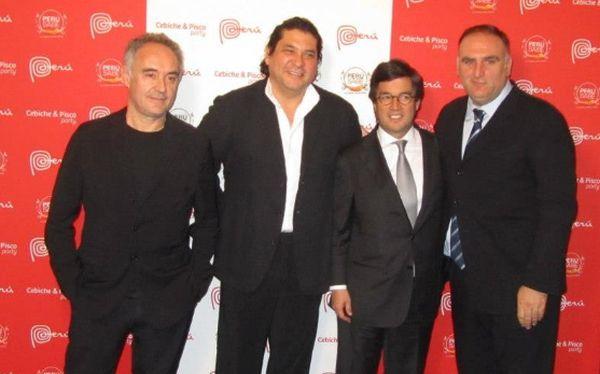 La cocina peruana toma Washington de la mano de Gastón Acurio y Ferran Adrià