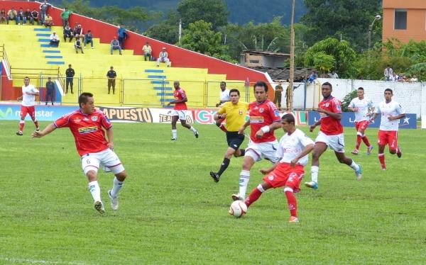 Unión Comercio venció 1-0 a Juan Aurich en los minutos de descuento