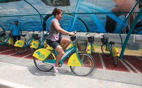 San Borja ampliará su programa de préstamo de bicicletas