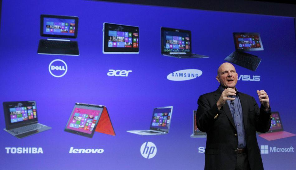 FOTOS: Microsoft presentó Windows 8 y la tableta Surface