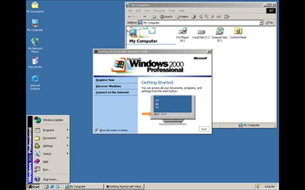 Windows y su evolución a través de los años