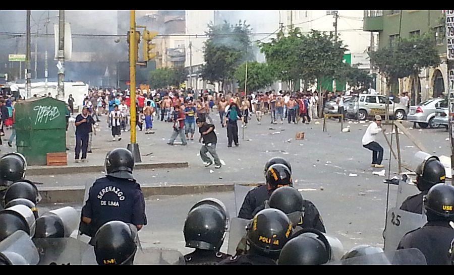 La Parada: Municipalidad de Lima aseguró que operación en mercado se coordinó con la Policía y el Mininter