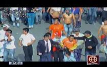 La Parada: camarógrafo víctima de vándalos casi pierde la oreja - Noticias de percy huamancaja