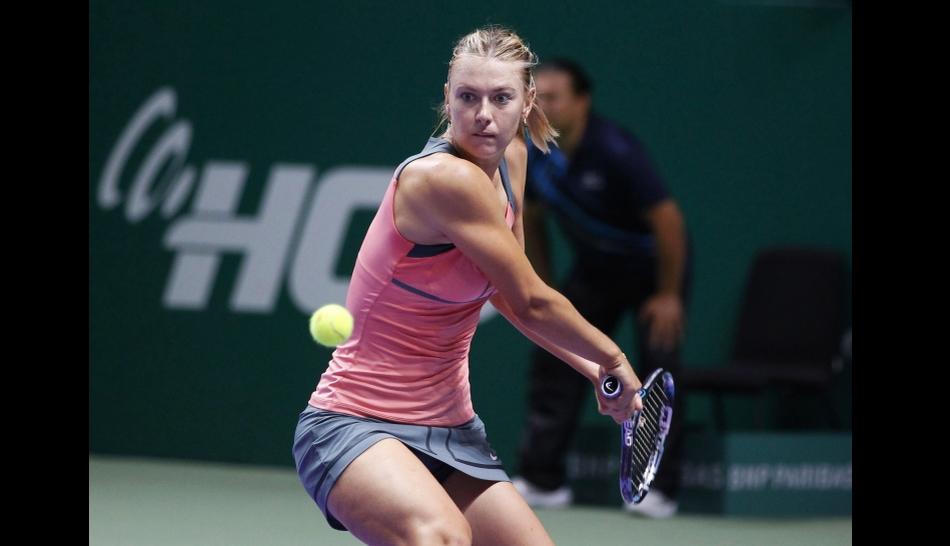 FOTOS: Maria Sharapova y Serena Williams llegan arrolladoras a la final del Masters femenino de Estambul