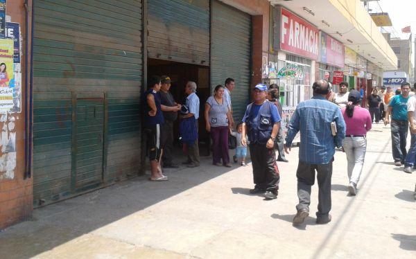 Comerciantes cierran sus negocios en el Cono Norte ante temor de saqueos