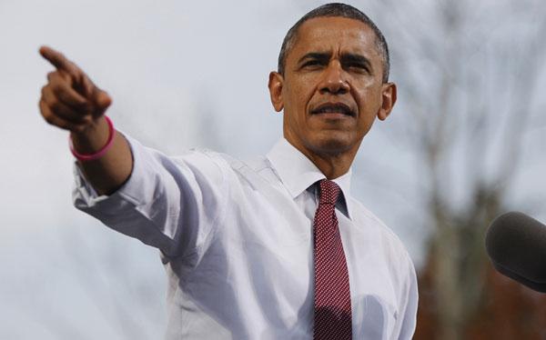 Barack Obama le sacó ligera ventaja a Mitt Romney en últimas encuestas
