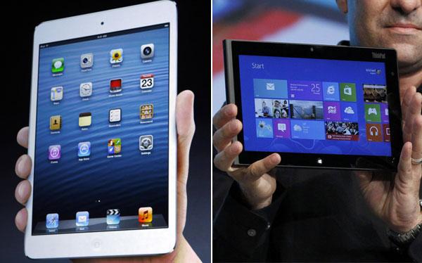 iPad mini y Surface gozan de alta demanda en sus primeros días en tiendas