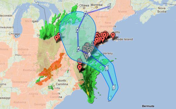 Obama declaró a Washington en emergencia por paso de huracán Sandy