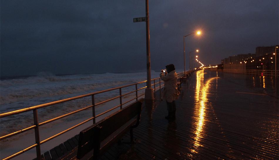 FOTOS: Nueva York cerca de parecer una ciudad fantasma por la llegada de huracán Sandy