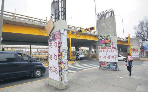 Lima aún espera por tres grandes obras para aliviar el tránsito vehicular