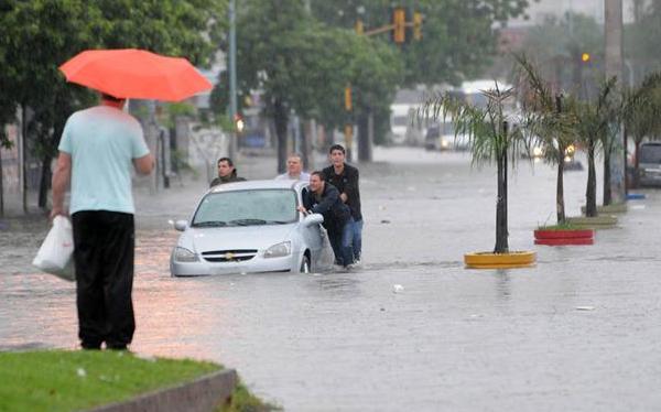 Te explico porque se inunda Buenos Aires