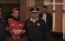 Policía presentó a delincuentes capturados tras la violencia en La Parada - Noticias de percy huamancaja