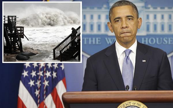 """Barack Obama sobre huracán Sandy: """"Podría tener consecuencias fatales"""""""