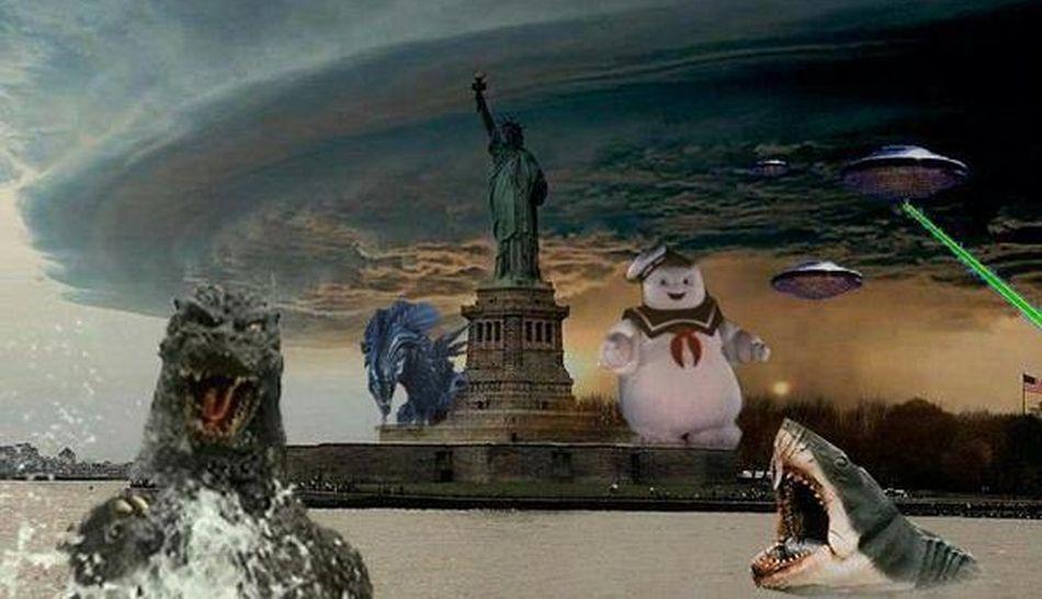 FOTOS: el huracán Sandy fue motivo de engaño y burla en redes sociales