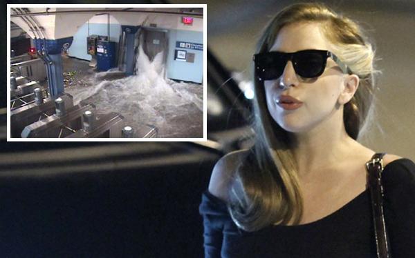 Lady Gaga reza por sus amigos y familia afectados por el huracán Sandy