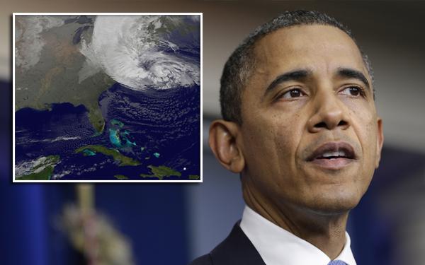 """Ciclón Sandy: Obama declara como """"zona catastrófica"""" el área afectada"""