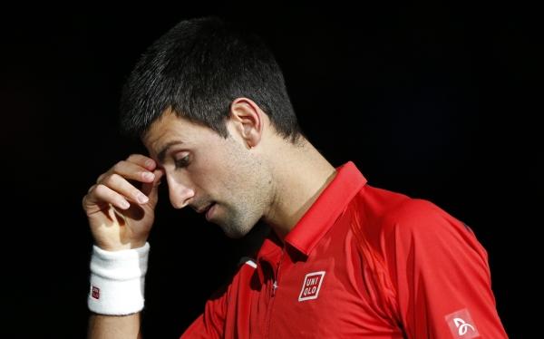 Djokovic perdió ante Querrey y fue eliminado del Masters 1000 de París