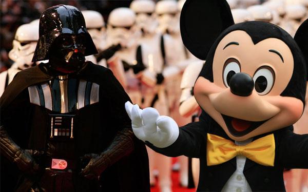 Star Wars es ahora propiedad del imperio... de Disney