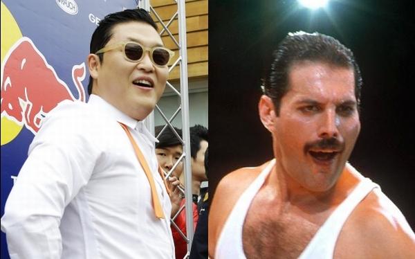 """PSY, creador del """"Gangnam Style"""", se inspiró en Freddie Mercury"""