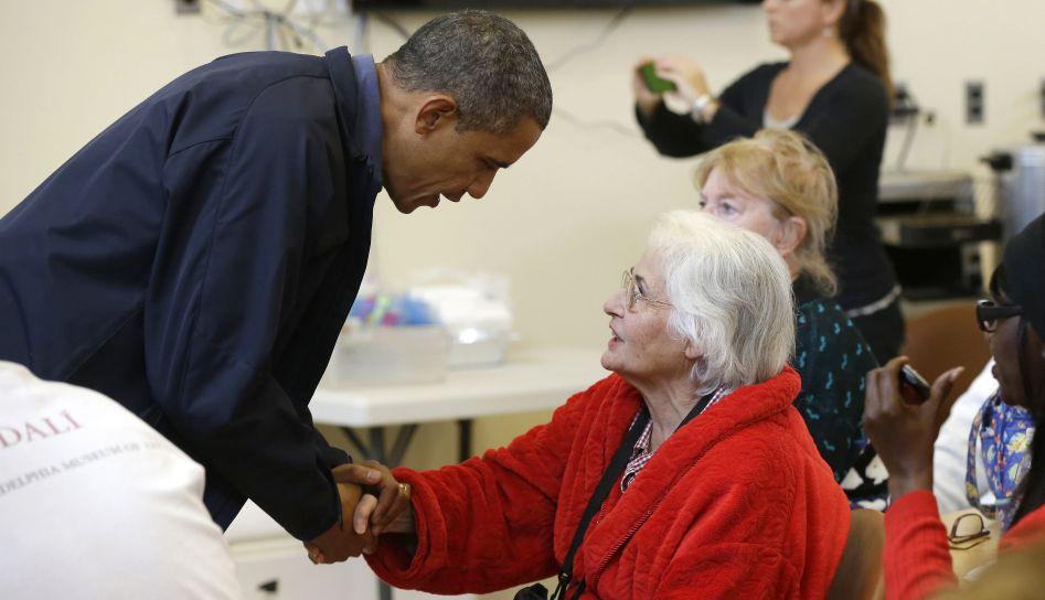 FOTOS: Barack Obama y Mitt Romney se muestran solidarios tras la tormenta Sandy