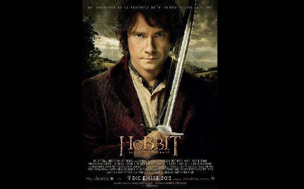 """Este es el afiche promocional de la esperada película """"El Hobbit"""""""