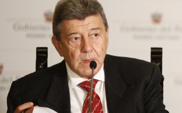 Canciller explicará acciones contra Movadef el miércoles en el Congreso