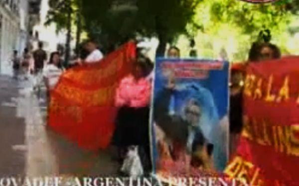Lynch informó a autoridades argentinas sobre la presencia de Movadef